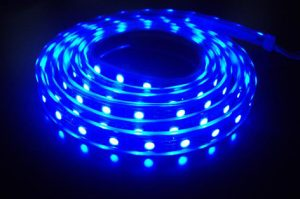 Ruban led submersible bleu