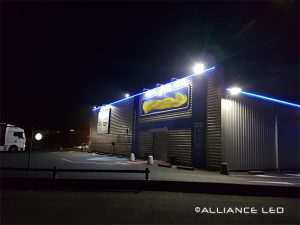 Enseignes magasin LED