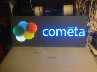 Enseigne led Cometa