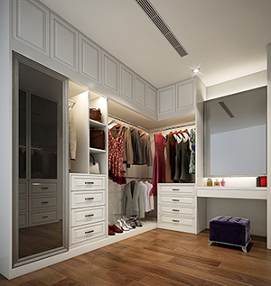 led pour dressing