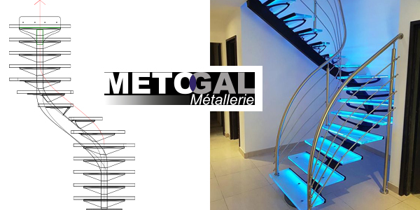 metogal escaliers